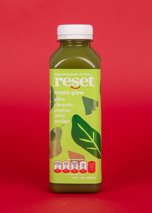 tropic glow - Reset Cold Pressed Juice