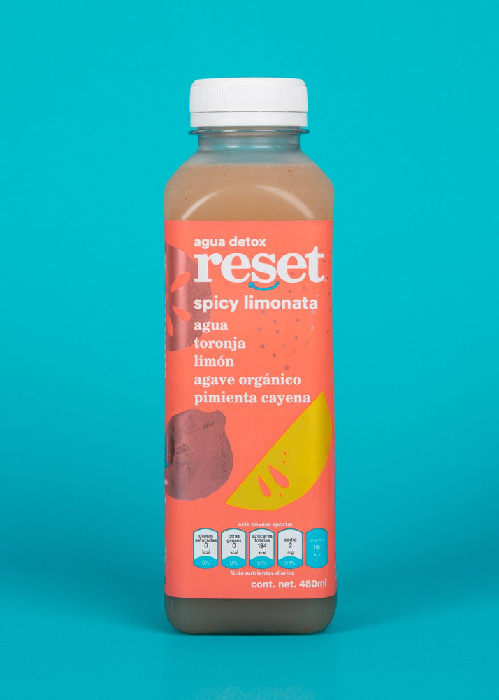 spicy limonata - Reset Cold Pressed Juice