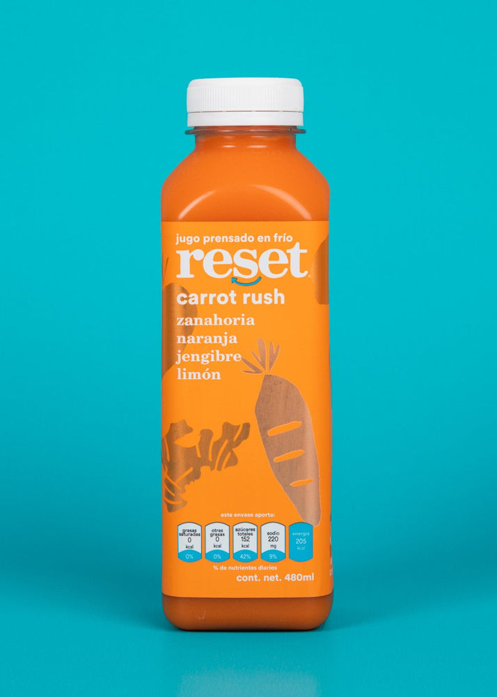 carrot rush - reset juice