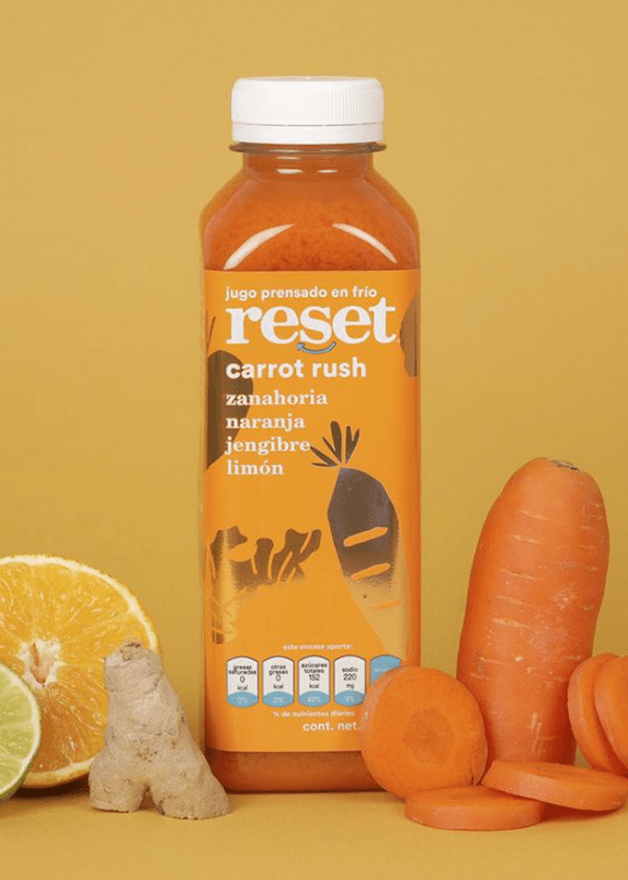 carrot rush - Reset Cold Pressed Juice