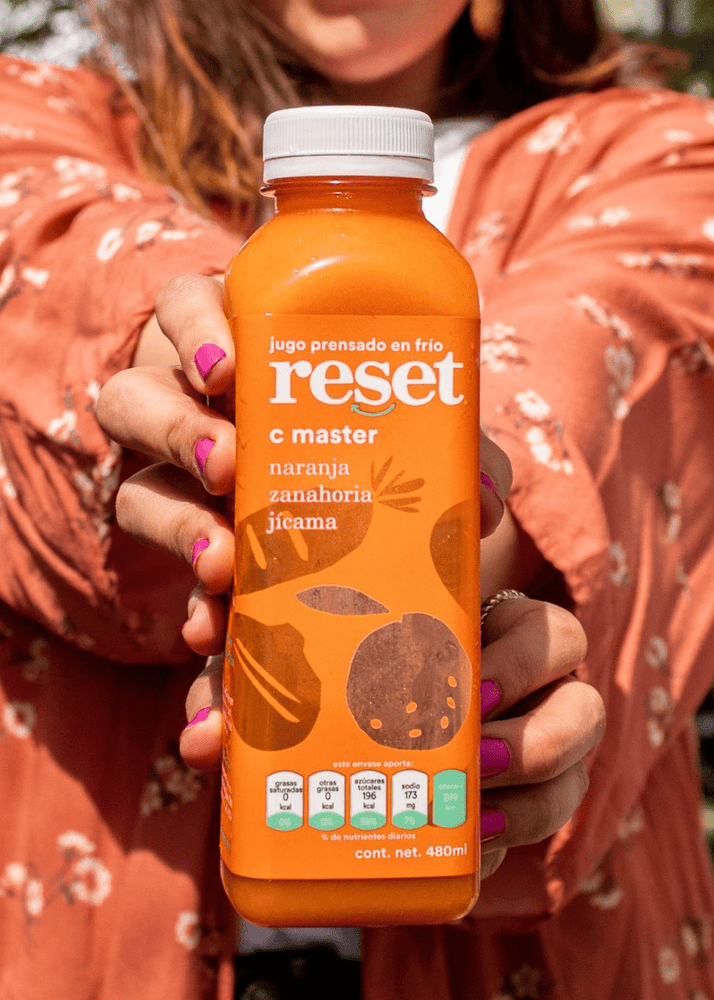 c master - Reset Cold Pressed Juice