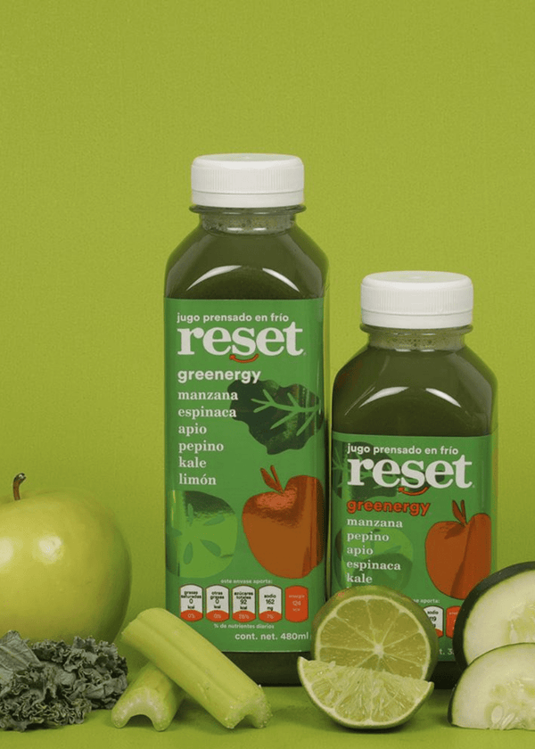 greenergy - Reset Cold Pressed Juice