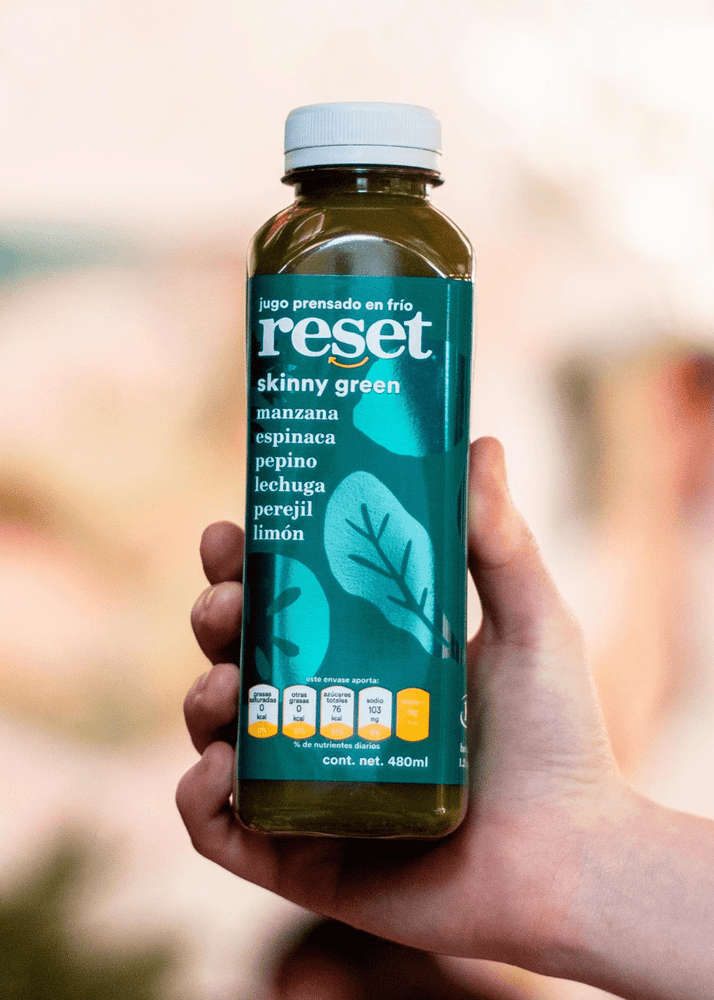 skinny green - Reset Cold Pressed Juice
