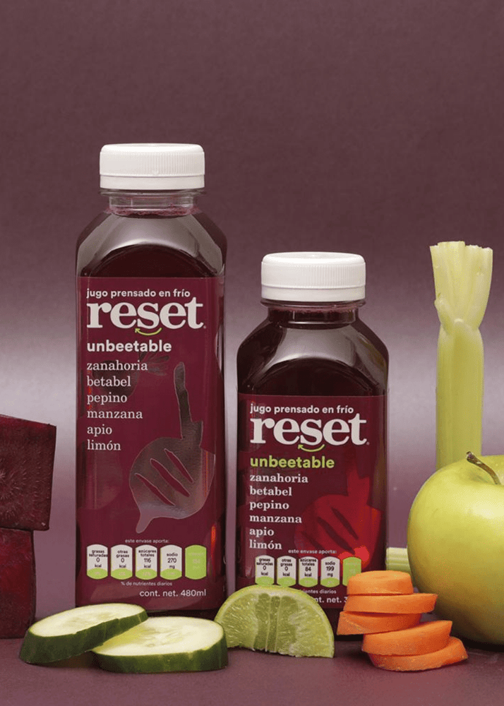 unbeetable - Reset Cold Pressed Juice