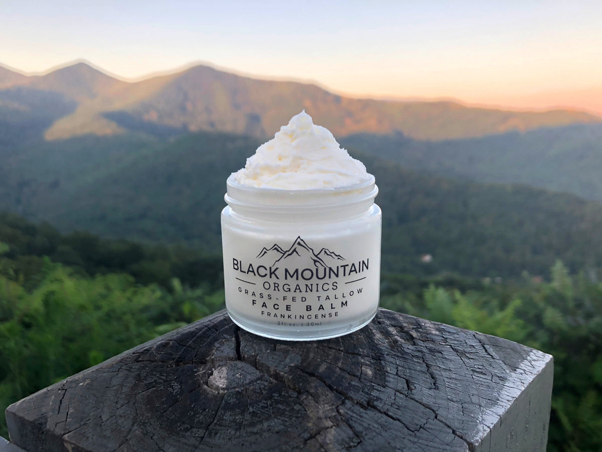 Grass-Fed Tallow Face Balm & The Blue Ridge Mountains