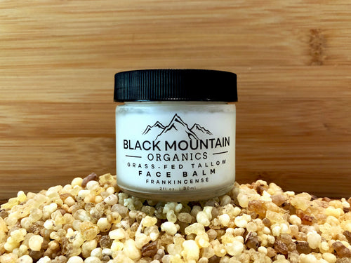Grass-Fed Tallow Moisturizing Face Balm Cream - Frankincense
