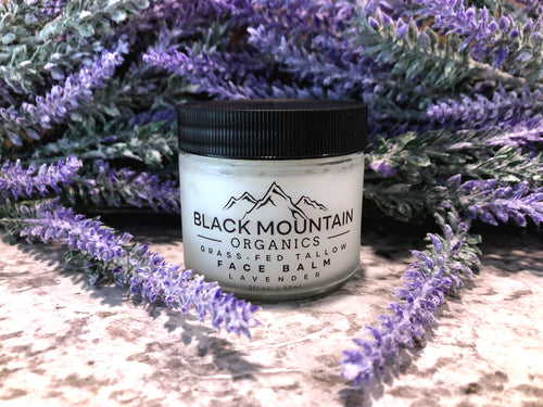 Grass-Fed Tallow Moisturizing Face Balm Cream - Lavender
