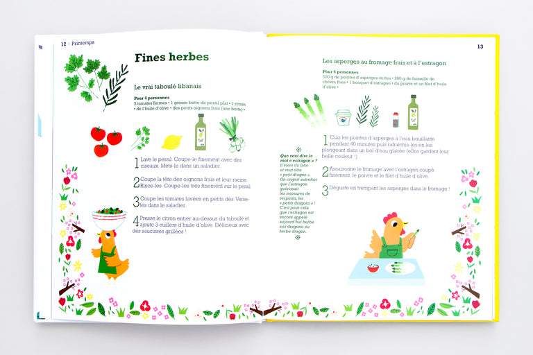 French cooking book for parents and children. Olibrix online children's bookstore.