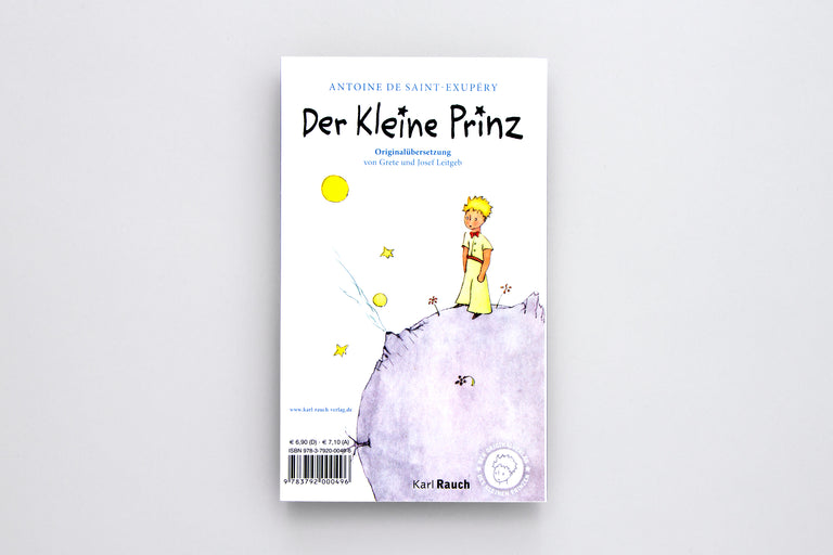 Antoine de Saint-Exupéry The Little Prince. Der Kleine Prinz. Buy children's books in German, Spanish, French, Italian, Russian and more