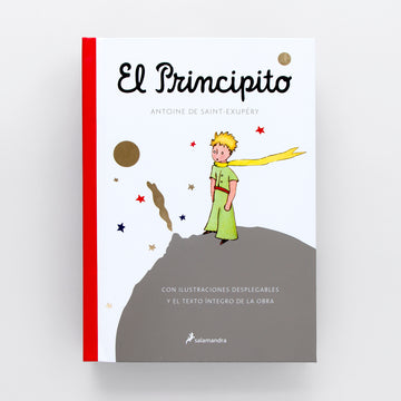 El Principico. Children's Pop-up books. Best books for kids. Kids books in Spanish. Antoine de Saint-Exupéry. Classic books for kids