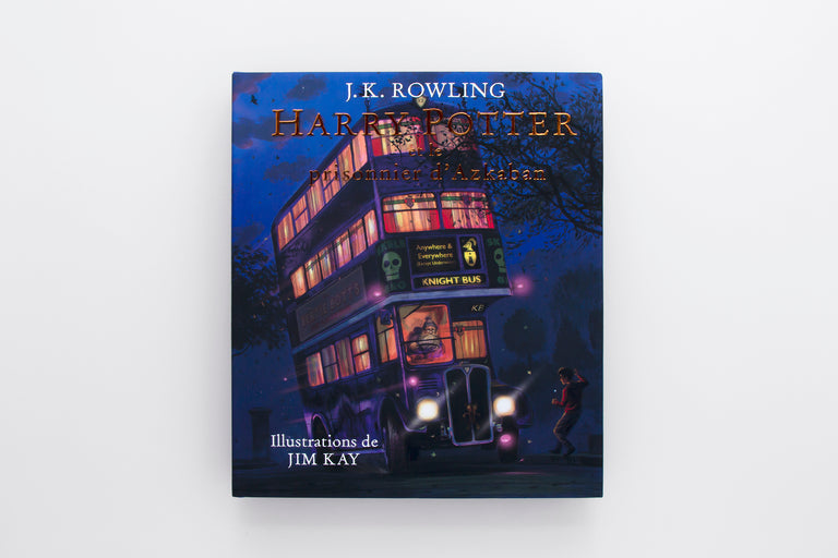 Harry Potter et le prisonnier d'Azkaban. Harry Potter and the Prisoner of Azkaban. J.K. Rowling. Learn French. Best gifts for children and kids.