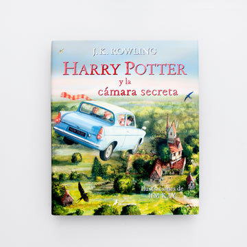 Olibrix online children's bookstore. J.K. Rowling. Harry Potter y la Camara Secreta. Harry Potter and the Chamber of Secrets. Learn Spanish. Best Books for boys. Best Books for Girls. Limited Edition. Illustrated.