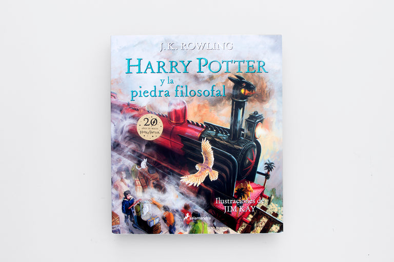 Olibrix online children's bookstore. Harry Potter and the Sorcerer's Stone. J.K. Rowling. Harry Potter y la piedra filosofal. Learn Spanish