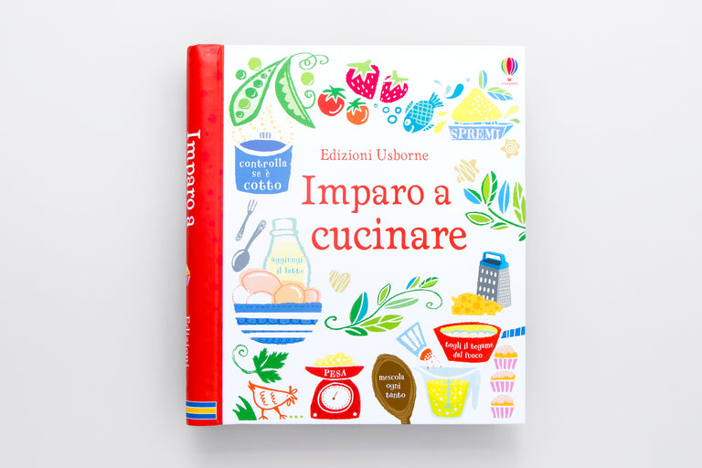 Imparo a cucinare. I learn to cook.  Olibrix online children's bookstore.  Buy children's books in German, Spanish, French, Italian, Russian and more Buys children's books in Italian.