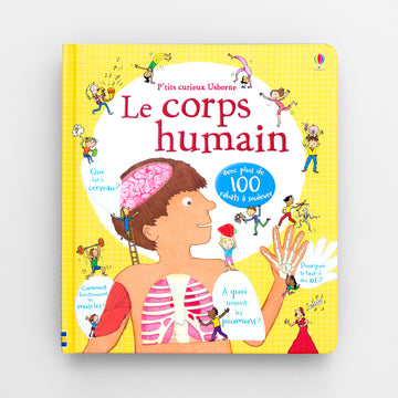 Le corps humain. The human body.  Olibrix online children's bookstore.  Buy children's books in German, Spanish, French, Italian, Russian and more Buys children's books in French.