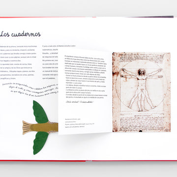 Leonardo Da Vinci (Pop-Up). Olibrix. Children's Books in Spanish