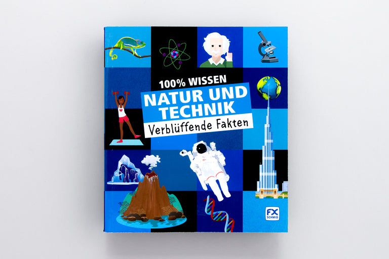 Buys children's books in German. 100% Wissen: Natur und Technik
