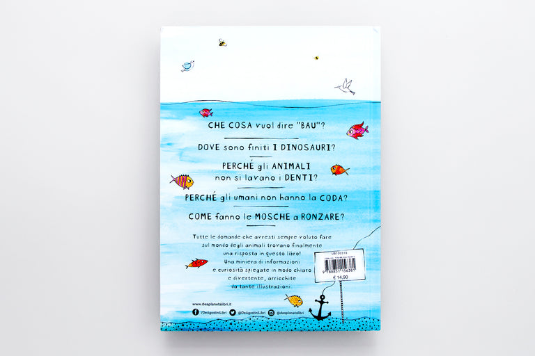Perché i pesci non annegano. Why don't fish drown Olibrix online children's bookstore.  Buy children's books in German, Spanish, French, Italian, Russian and more Buys children's books in Italian.  Best gifts for children and kids.