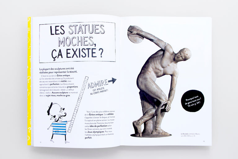 Pourquoi l'art est-il plein de gens tout nus. Why is art full of naked people. Art books for kids.  Olibrix online children's bookstore.  Buy children's books in German, Spanish, French, Italian, Russian and more Buys children's books in French.  Best gifts for children and kids.