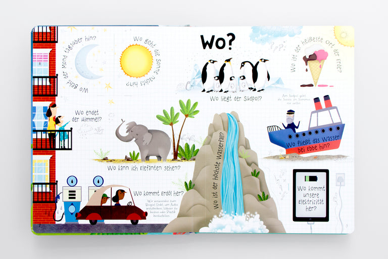 Best gifts for kids book. 60 schlaue Fragen über unsere Erde. Lift-the-flap book.