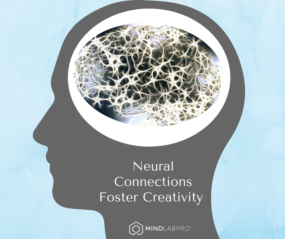 creativity, neural connections