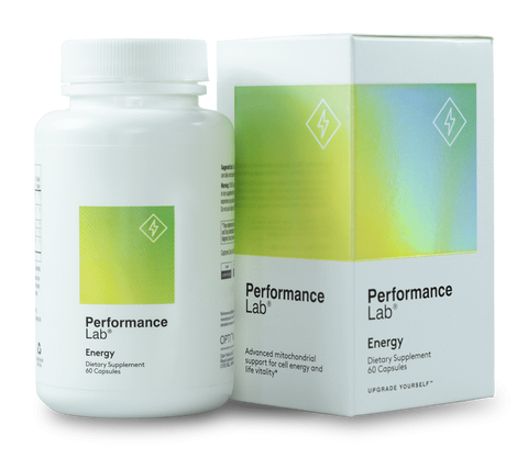 A bottle of Performance Lab Energy