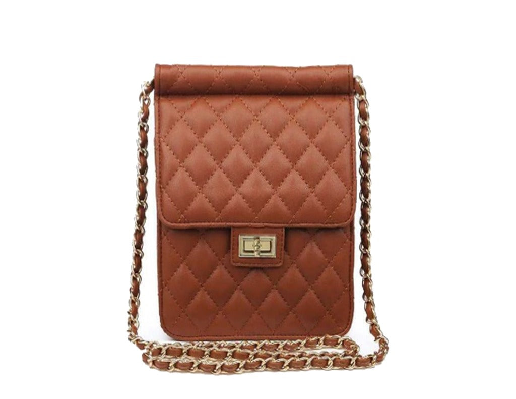 Timmy Woods Anaiya Quilted Vegan Leather