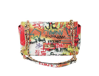 Sam Multi Graffiti Quilted Bag