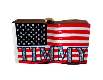 Us Flag - Customized Handbag