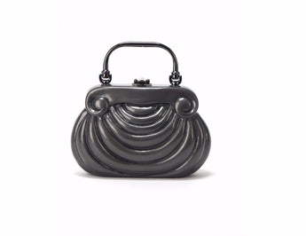 Timmy Woods Mozart - Pewter Handbag