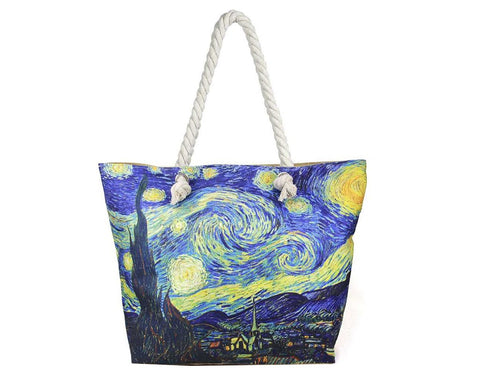 Timmy Woods Multi Print Art Tote