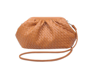 Lindy - Woven Vegan Leather