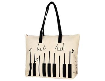 Timmy Woods Piano Tote Bag