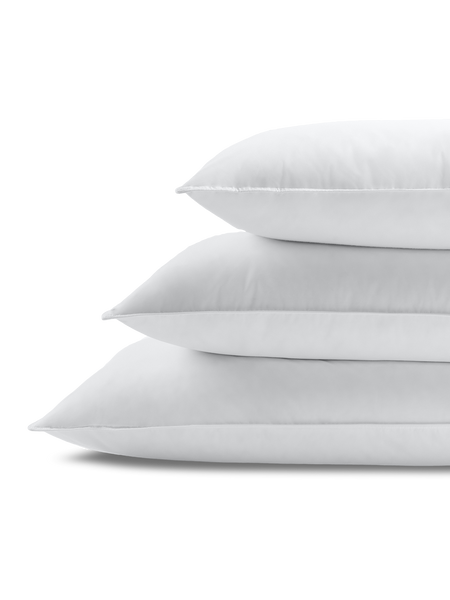 Down & Feather Pillow Stacked