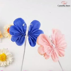 How To Make Paper Butterfly-Tutorial Pom Pom Tissue Paper Butterfly