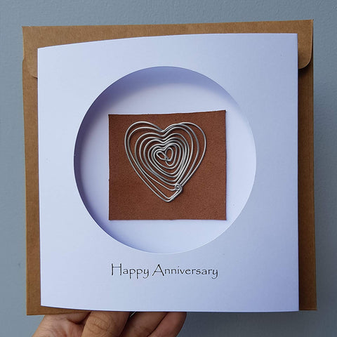 10th Year Anniversary Aluminum Card