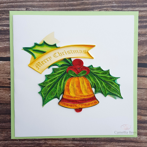 Christmast Cards 3D Quilling paper Art 9