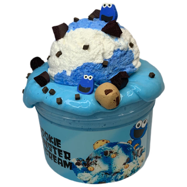 Cookie Monster Ice Cream DIY