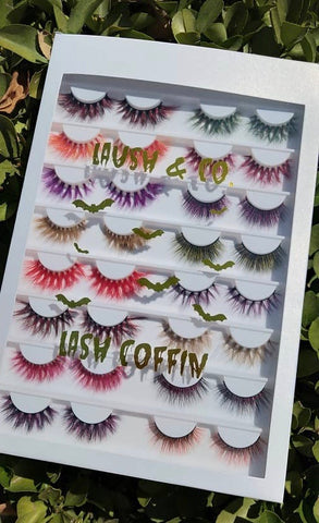 Laush & Co Halloween Lash Coffin