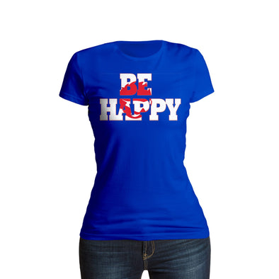 Shurtzee - Be Happy Women's T-Shirt