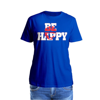 Shurtzee - Be Happy Men's T-Shirt