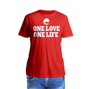 Shurtzee - One Love One Life Men's T-Shirt