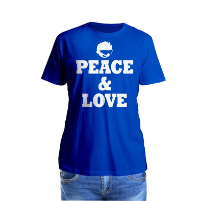 Shurtzee - Peace & Love Men's T-Shirt