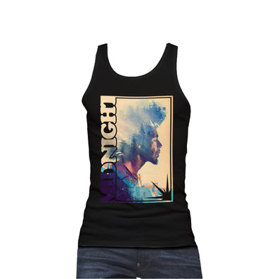 Midnight Men's Forest Tank