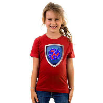 Trip & Shy Shield Kid's T-Shirt