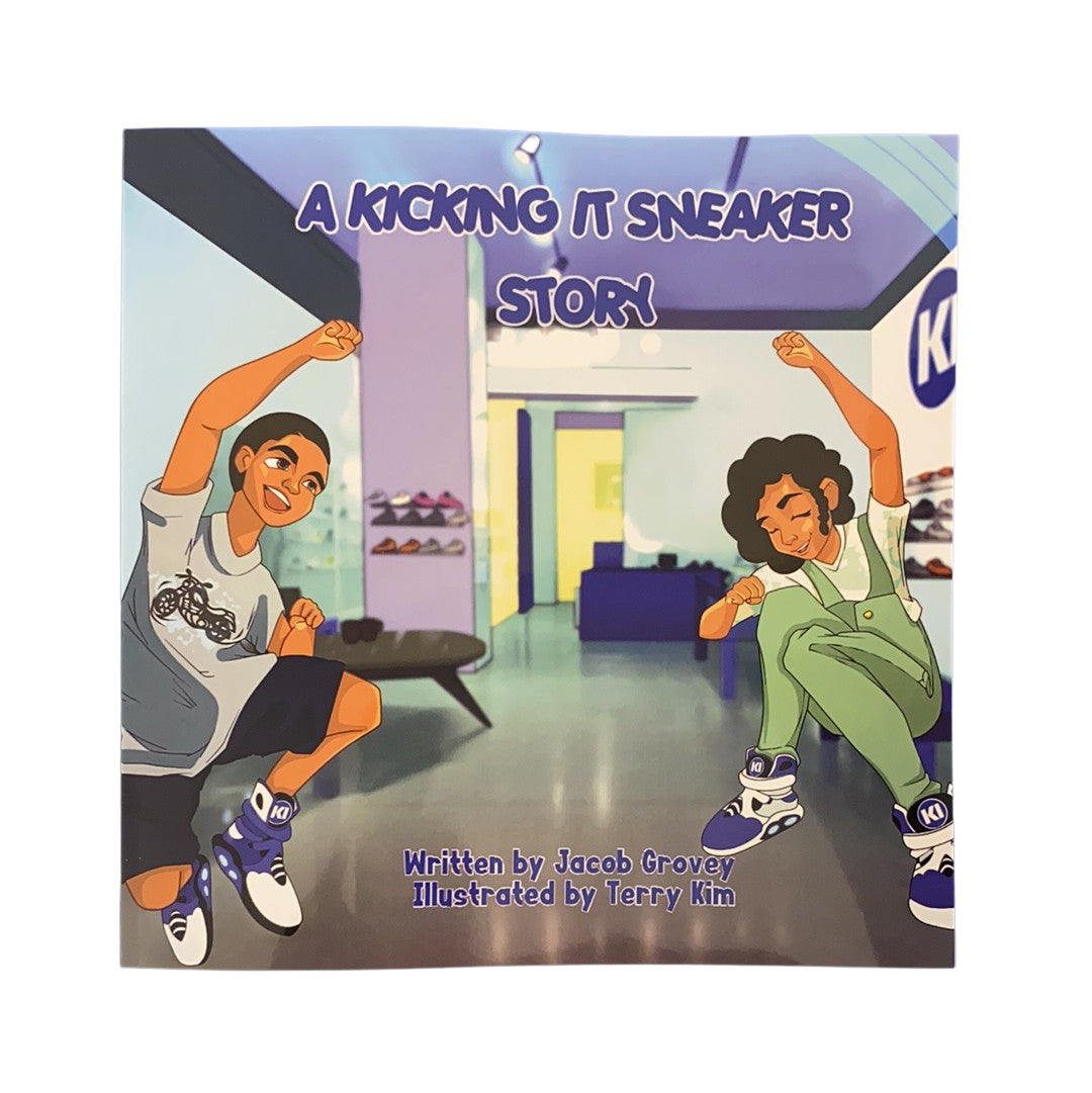 A Kicking It Sneaker Story