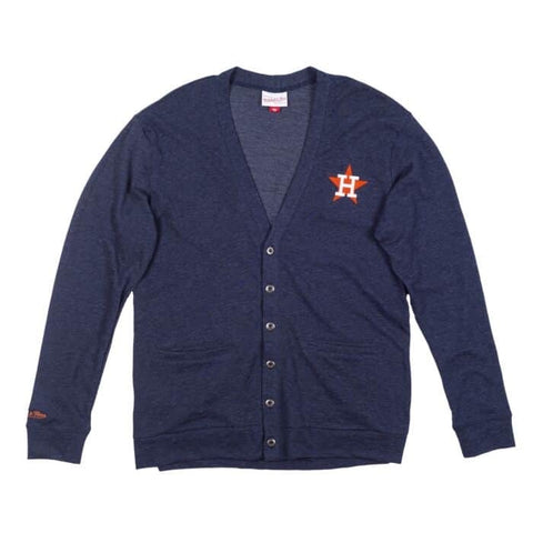 Astros Front Button Cardigan