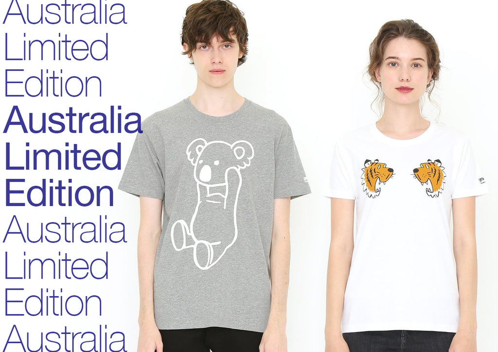 1aec9ea95 A selection of graniph t-shirt designs and colourways released exclusively  to Australian stores.