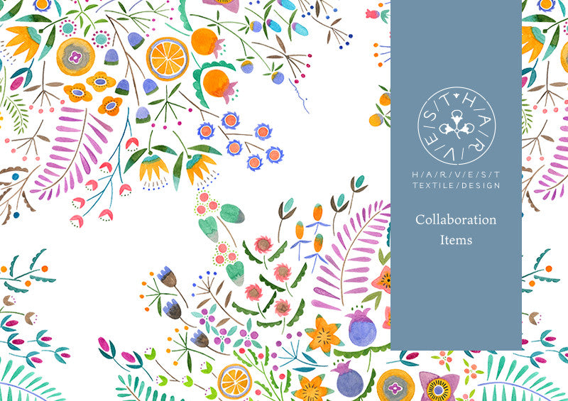 """To colour every day with nature's harvest"" is the motto of this Japanese textile art brand, inspired by travels through natural landscapes, the designs aspire to convey the love and kindness of all things natural.[ssorder:-20190214]"