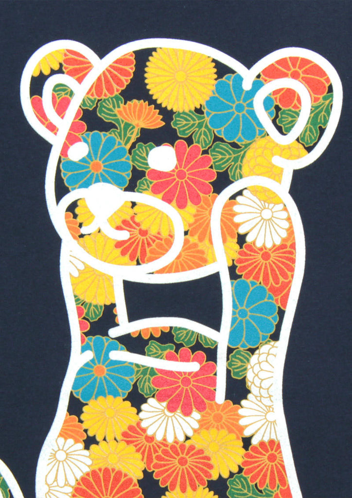 Japanese Flower Control Bear